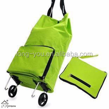 Collapsible Foldable Rolling Shopping Bag Trolley Shopping Bag