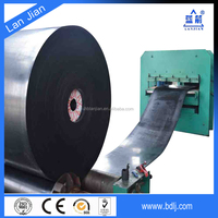 High Quality Fabric Oil and Grease Resistant Rubber Conveyor Belt Supplier for Recycling and Paper Industry