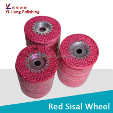 spiral felt concentric sisal buffs to inox scissors