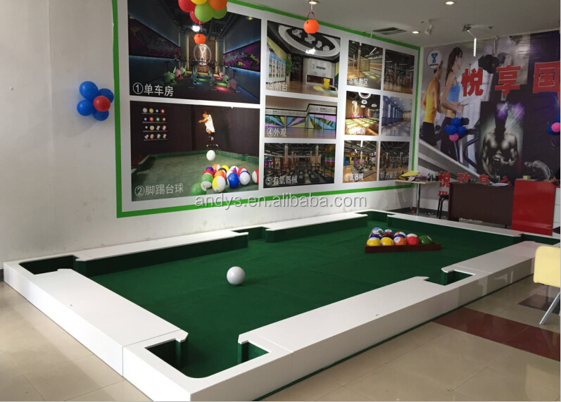 New product the white wood material structure snookball table