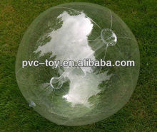 "Hot sale 36"" 6 Panel Clear GLOW STICK or SPRINKLER Beach Ball w/ Clear Tube"