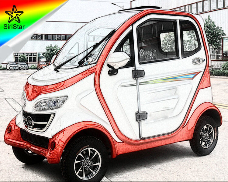 3 Seater Electric Vehicles 4 Wheel Small E Car China Supplier for Sale