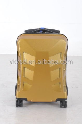 Foldable travel bag scooter trolley luggage suitcase with CE