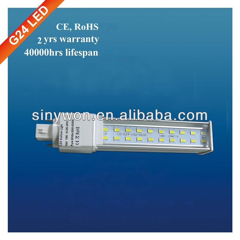 SYW 2014 6W-15W LED PLC Light long lifespan g23 g24 led pl lamp