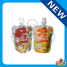 Mico 60g fruit juice jelly spout pouch stand up pouch bags