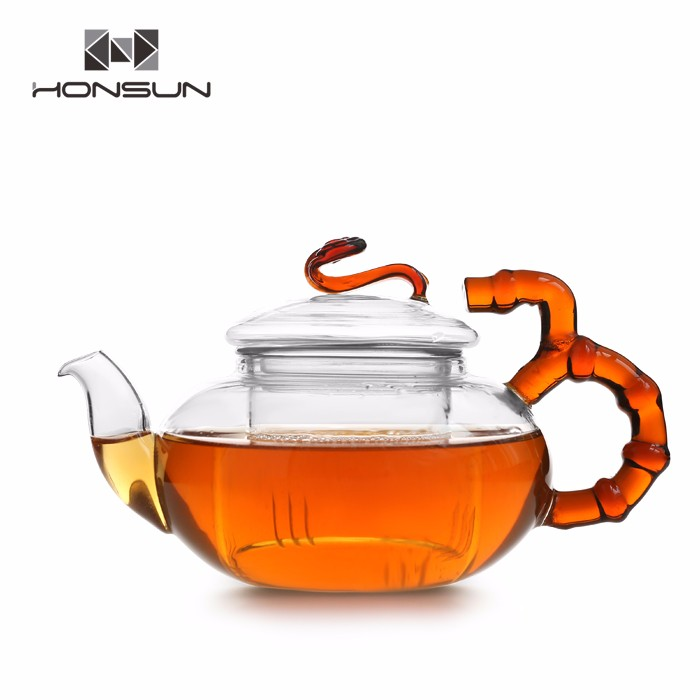 Ten Years Experience Supplier Low Price Good Quality Glass Tea Pot Set