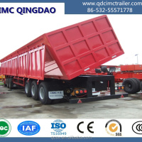 Tipper Dump Semi Trailers For Transporting