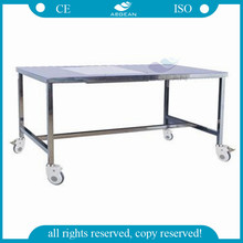 AG-MK004 CE ISO stainless steel silver surgical instrument table