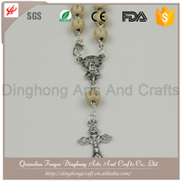 Cheap Wooden Bead Rosary Mala Prayer Rosary