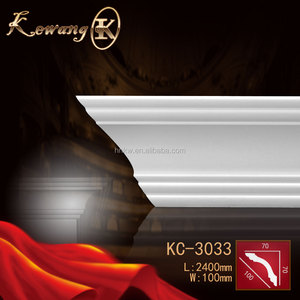 Modern Design interior and exterior decoration PU cornice moulding