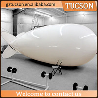 Inflatable floating advertising helium blimp with DIY Logo printing