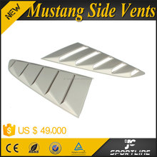 PP Auto Car Rear Window Vent Grills for Ford Mustang 2015