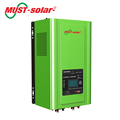 PV3000 MPK 4kw 5kw 6kw 220v solar inverter with built-in charge controller grid tie solar inverter