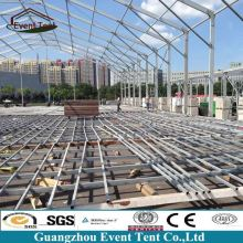 Tent manufacturer Guangzhou industrial tent warehouse canopy 20x50m for sale