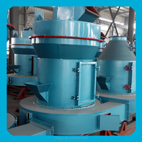 Pulverizing mill for talcum powder as cosmetic ingredients