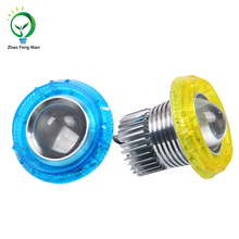 25W Led Motorcycle Headlight With Color Aura