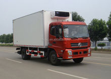 refrigerated standby electric unit truck/meat delivery van truck