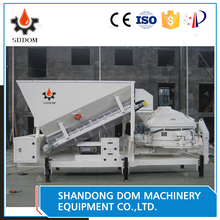 SDDOM MC1800 SIEMENS control hot mini portable mobile mixing concrete batching plant for sale supporting leg type