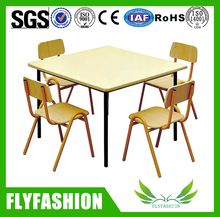 Nursery School Kid Study Tbale And Chair/Cheap Child Study Desk And Chair
