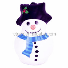 Funny small inflatable christmas snowman for Winter decoration