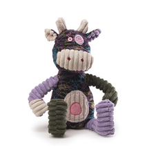 Christmas gifts super cute corduroy purple cow toy
