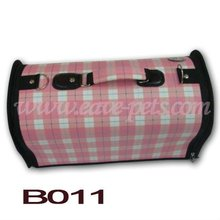 B011 Cloth Material Pink Color 42*21*24CM for Choose Dog Carrier Factory