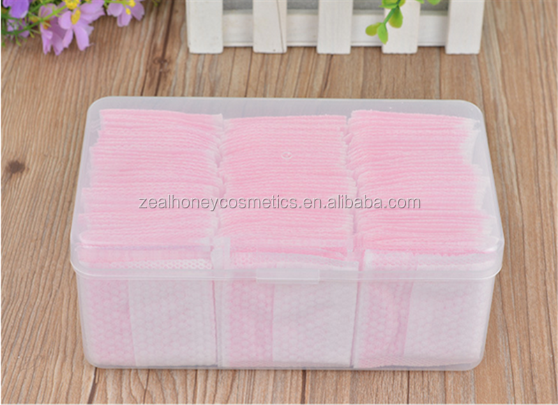 Zealhoney 100% cotton embossed flower makeup face cleaning pad