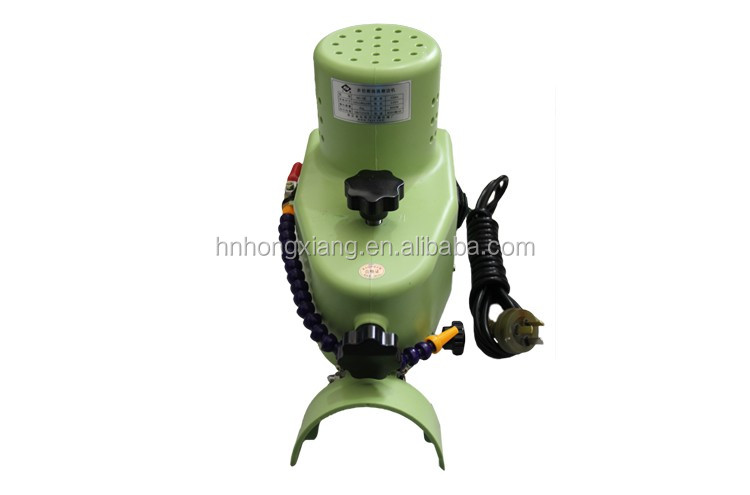Hand use portable glass manual edging grinding machine