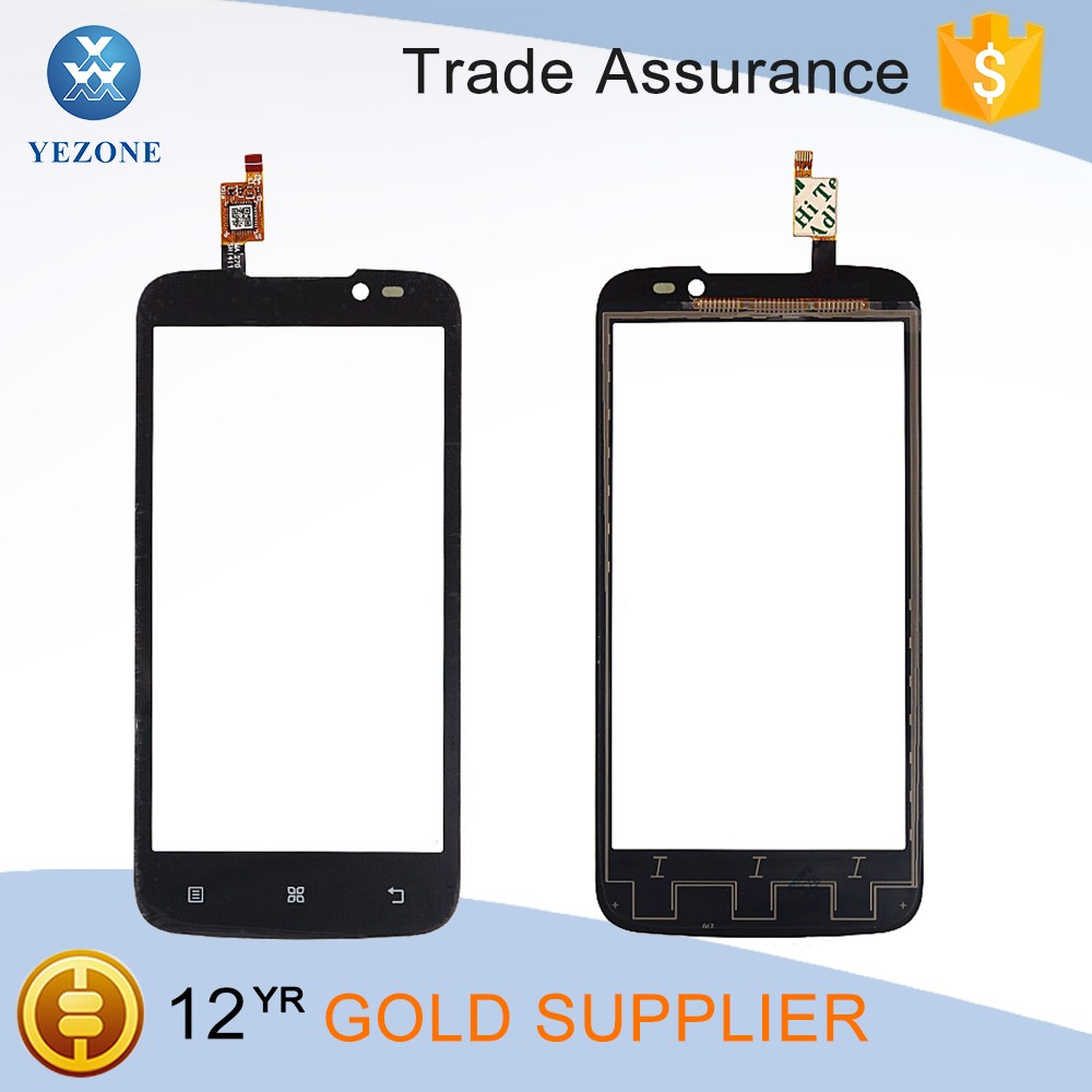 "4.5"" Black Touch Glass for Lenovo A516 Lcd Digitizer Touch Screen"