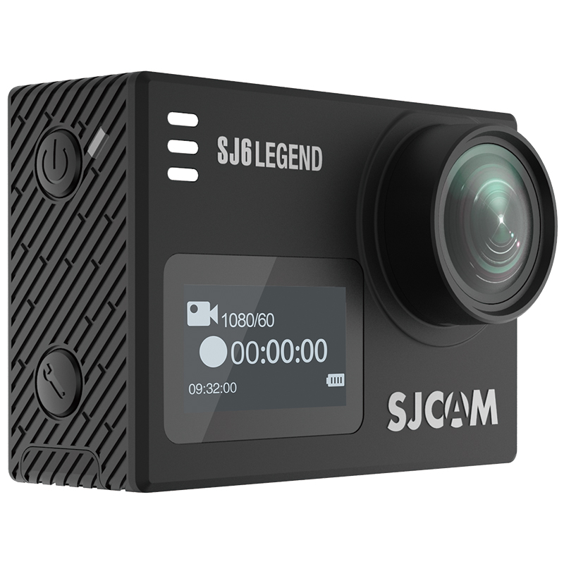 Offical SJCAM SJ6 LEGEND dual screen sport action camera WIFI action camera with 4K video resolution remote control