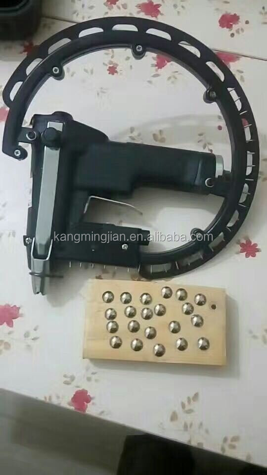Sofa automatic nail machine