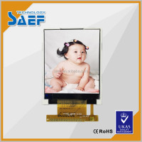 1 inch to 2 inch TFT LCD ILI9225 for smart watch display assy