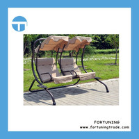 F Highly comments high quality patio garden swing chair