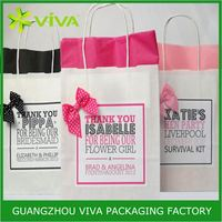 Hot sale packaging angel kisses gift bags