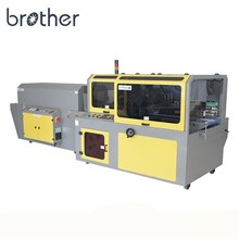 Brother automatic pof pe film side sealing heat shrink tunnel packing wrapping machine