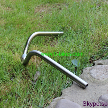 Wholesale titanium handle bar with 22.2, XACD titanium handle bar for bicycles, custom Titanium bars for bicycle handle