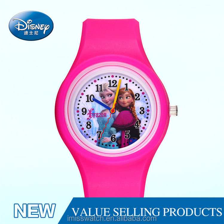 Selling well all over the world name brand kids wrist disney watch