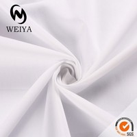 white cotton poplin fabric