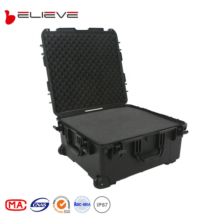 BELIEVE 3875 hard <strong>plastic</strong> waterproof safety equipment protective <strong>case</strong>