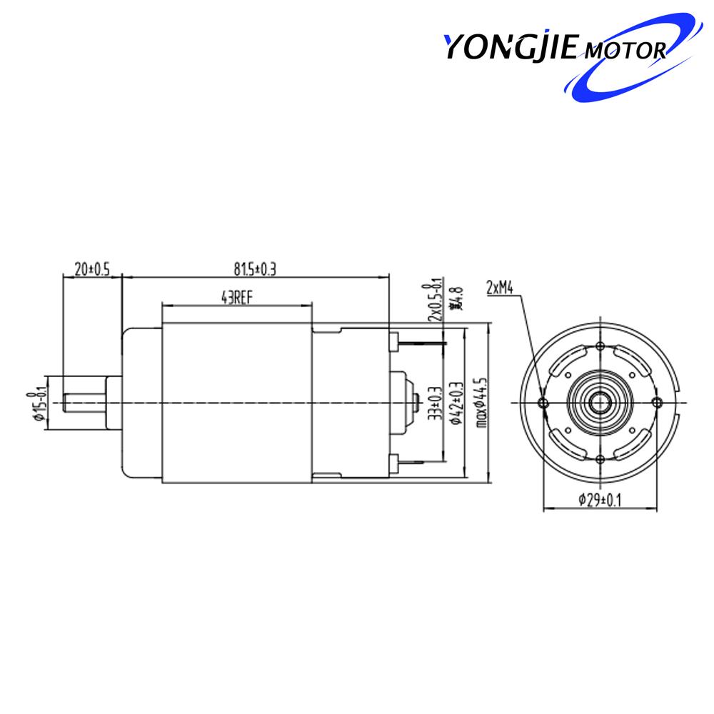 motor el u00e9ctrico 220 v 100 w de alta calidad caliente de la venta de bajo precio para vac u00edo