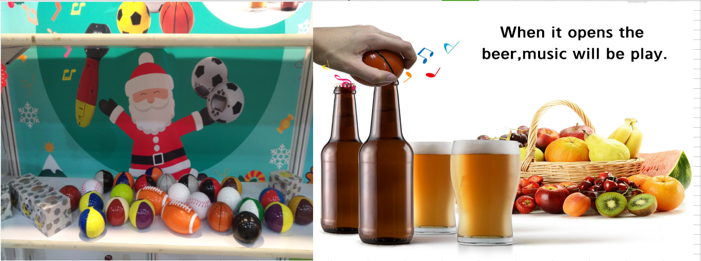 2018 New football fans funny football music bottle opener giveaways gifts