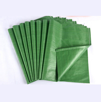 Wholesale green pp woven sack shipping from china