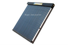 Heat pipe panel Solar water heater /flat or title roof use 24tubes/240L