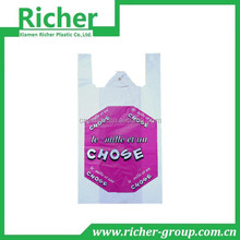 PACKAGING ON ROLL BIODEGRADABLE VEST SHOPPING BAG