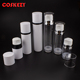 Clear Airless Package 50ml 120ml 180ml Empty Cosmetic Airless Pump, Wholesale High Quality Plastic White Airless Bottle
