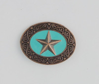 Western Conchos for leather belt
