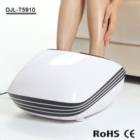 Air pressure kneading slimming magnetic silicon foot massage toe ring