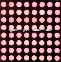 China 5mm 8x8 RGB pixel led dot matrix display