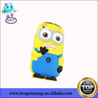 New Arrival 3D Cartoon Silicone Despicable Me Case for iPhone 5