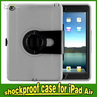 Heavy Duty Man shock proof tablet pc case,case tablet pc with stand for ipad air 2